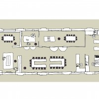 Plan du loft ©2013 KITCHEN STUDIO
