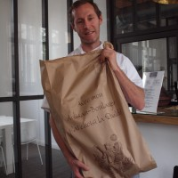 Visite de Mickaël Morieux, notre boulanger attitré !