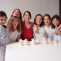 Anniversaire cupcakes entre copines