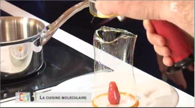 Kitchen studio diffusion du cours de cuisine moleculaire - Emission de cuisine france 2 ...