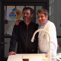 Thierry Burlot et Michel Roth revisitent la poule au pot pour La Semaine du Goût