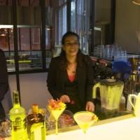 Sandrine Houdré-Grégoire aux commandes de la soirée Bloody Mary