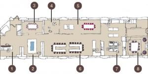 Plan du Loft