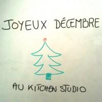 joyeux decembre au kitchen studio